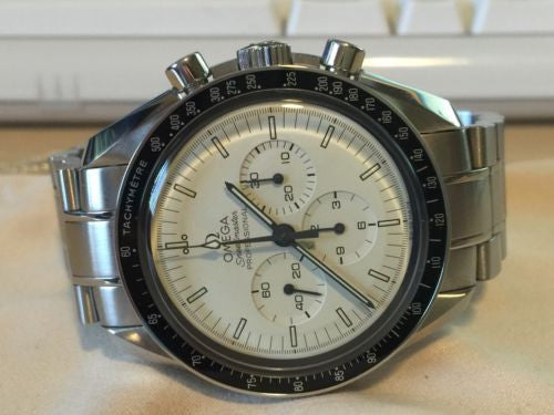 Omega Speedmaster Professional Moonwatch 3570.50 Cream Military Dial MINT! RARE!