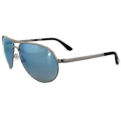 James Bond 007 SKYFALL TOM FORD MARKO TF144-14x  Silver / Blue mirror Sunglasses