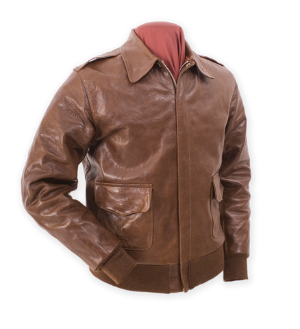 EASTMAN LEATHER HORSEHIDE JACKET - Flying Type A-2 Monarch Mfg. Contract 23378
