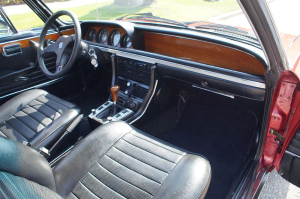 1974 BMW 3.0 CSI COUPE M30 ENGINE WITH 5 SPEED TRANSMISSION  ONLY 579 BUILT IN 74'
