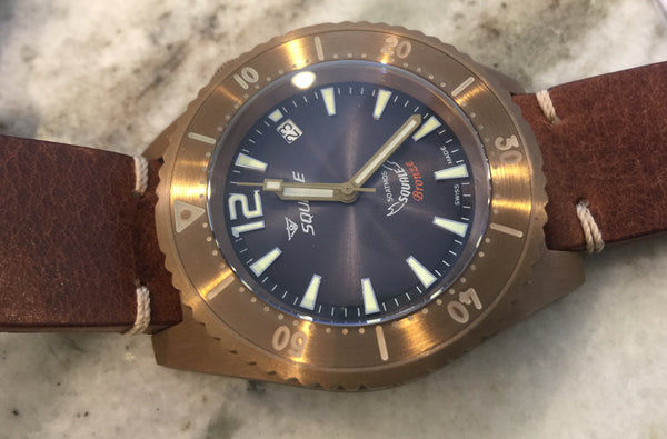 SQUALE WATCHES 50 ATMOS BRONZE ANTHRACITE - LIMITED EDITION