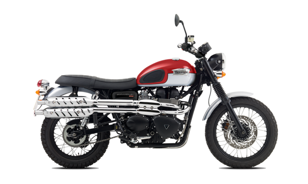 2016 Triumph Scrambler Red White