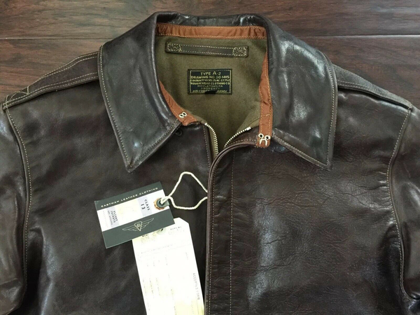 Eastman Leather Winter Lined Mod Horsehide A-2 Flying Jacket, RW 27752