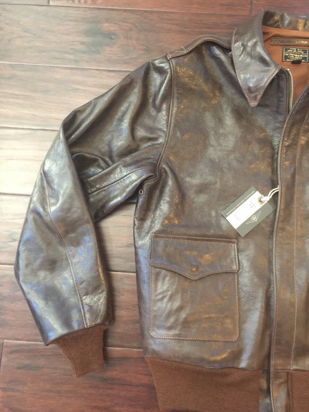 Eastman Leather Horsehide USAAF A-2 Flying Jacket, STAR Sportswear 28557