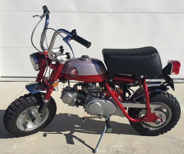 1969 Honda MINI TRAIL Z50 HONDA Z50 MINI TRAIL 1969 Incredible Fully Restored Beautiful Cherry Red Pearl