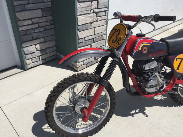 Bultaco Pursang MK10 1977 370 Fully Restored Beautiful Vintage MX Motorcycle