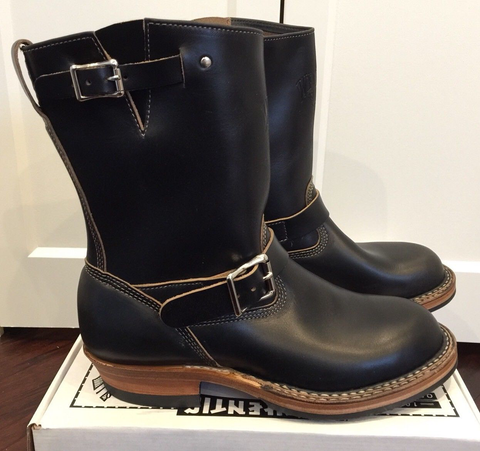 Limited Edition White's Nomad Engineer Boots BLACK Horween Chromexcel