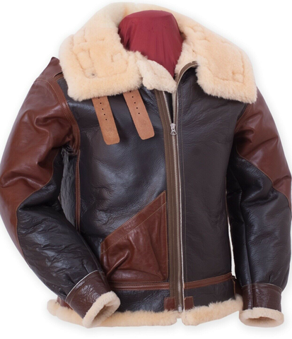 Eastman Leather Werber Sportswear B-3 Flying Jacket Horsehide Shearling