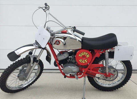 Hodaka 1971 Super Rat MX Racing Motorcycle 100CC Fully Restored Beautiful! Rare