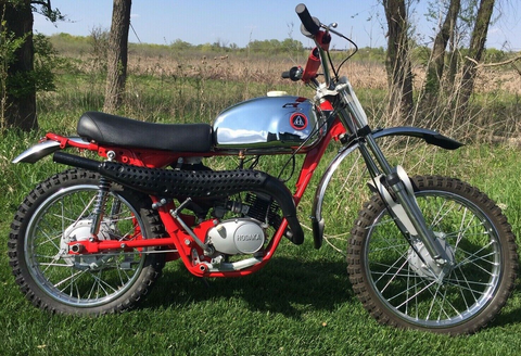 Hodaka 1973 Dirt Squirt Super Squirt 100CC Fully Restored Beautiful! Rare