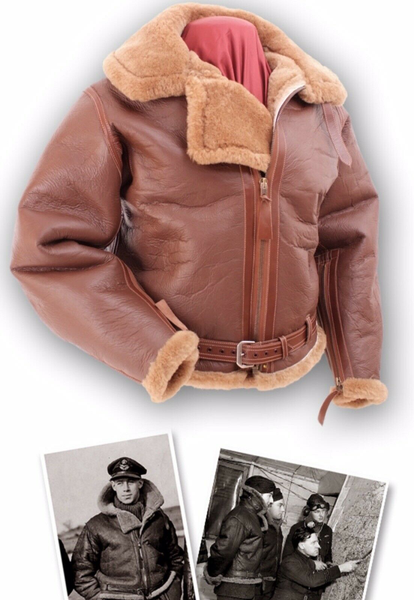 EASTMAN RAF 1940 British WW2 SPITFIRE PILOT IRVIN HORSEHIDE FLIGHT JACKET