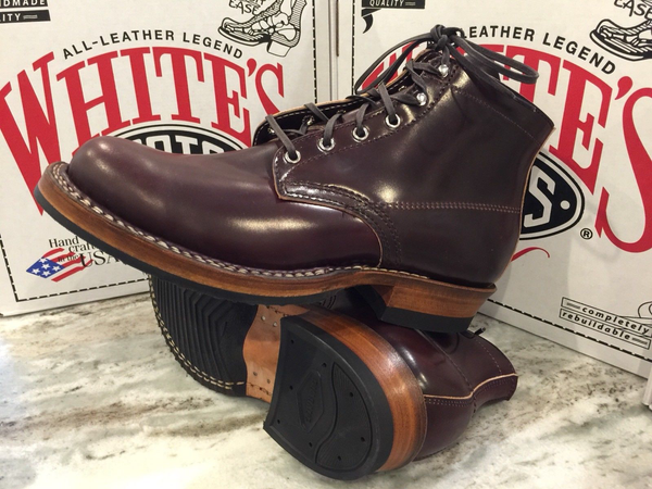 Limited Edition White's Boots Semi-Dress Horween Color #8 Shell Cordovan