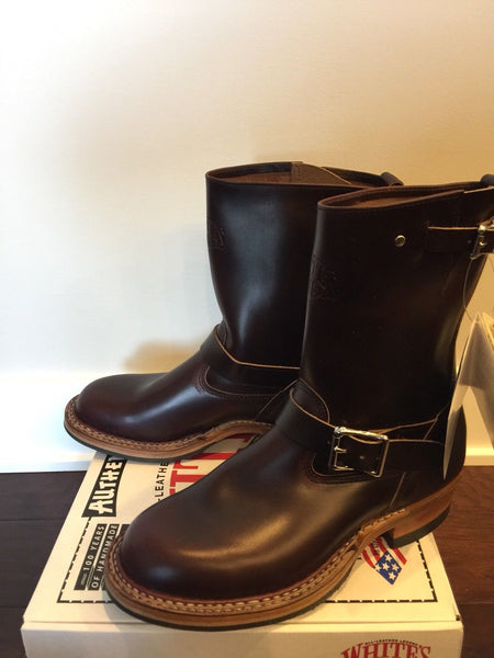 Limited Edition White's Nomad Engineer Boots Color #8 Horween Chromexcel