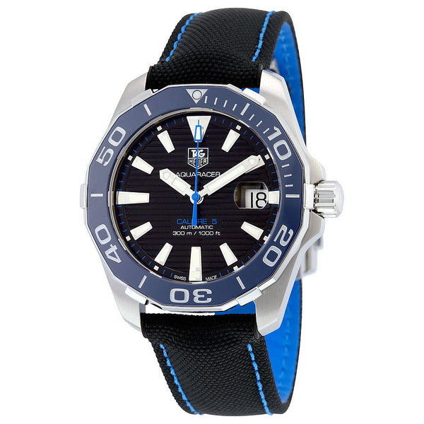 TAG HEUER Surf Team AQUARACER Black dial with Blue Ceramic Bezel Automatic
