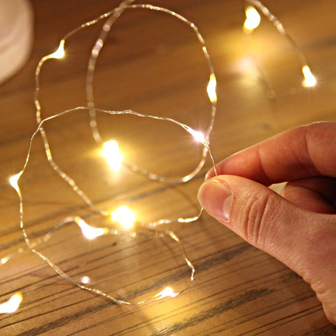 Decorative Fairy Light LED Wire - flashingo