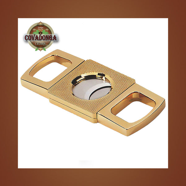 Gold Guillotine Cutter Covadonga Cigars