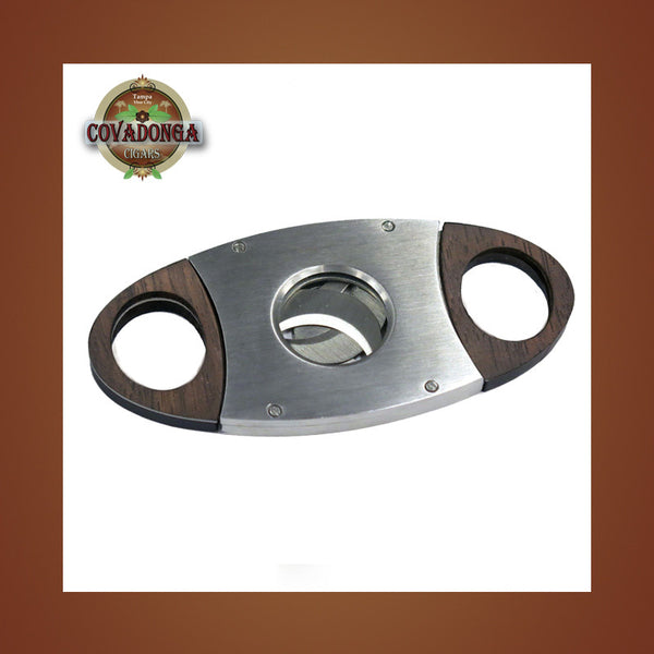 Guillotine Cutter Triple Blade Cutter Covadonga Cigars
