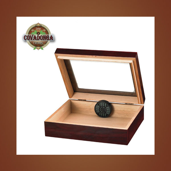Humidor Glasstop for 20 Covadonga Cigars