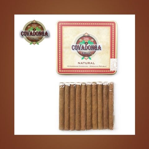 Natural Cigarillos Covadonga Cigars