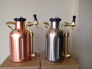 Beer Growler - Stainless Steel  (uKeg - Growler Werks)