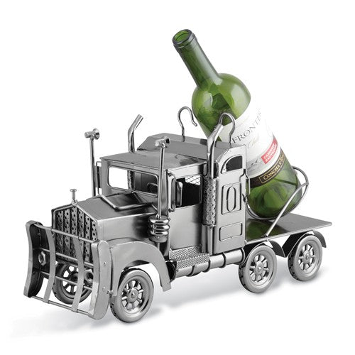 Big Rig Tractor Wine Caddy Metal Wine Caddy