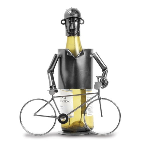 Biker Metal Wine Caddy