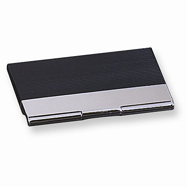Black & Silver Business Card Case