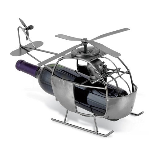 Helicopter Metal Wine Caddy