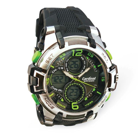 Mens Cardinal Ana-Digital Watch