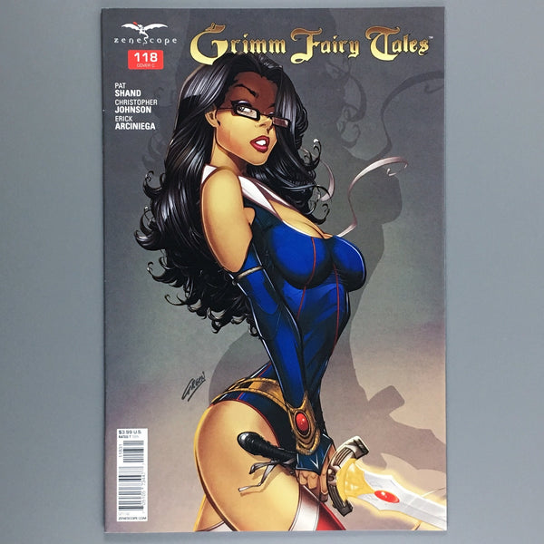 Grimm Fairy Tales 118 -  Paul Green Variant