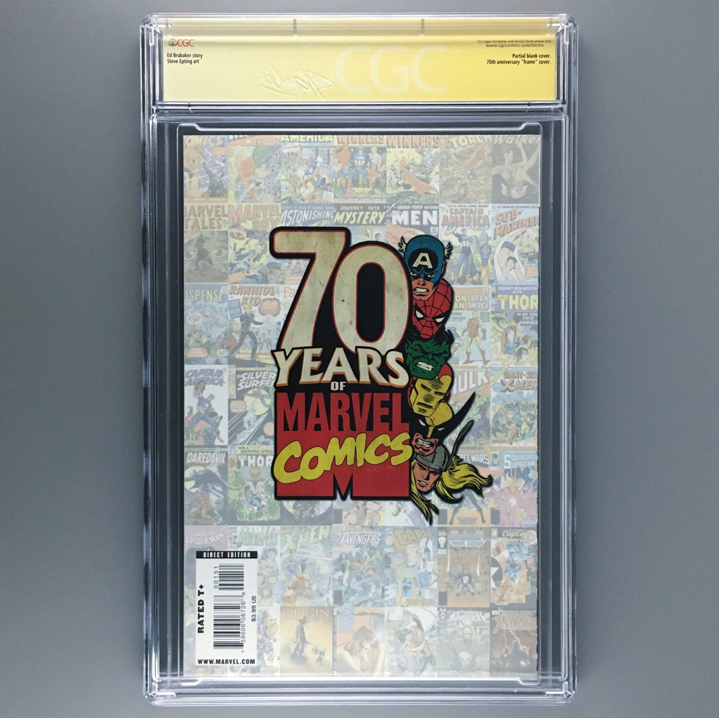 The Marvel Project #1 - CGC 9.8 - Signature Series