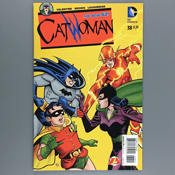 Catwoman 38 - Ty Templeton Variant
