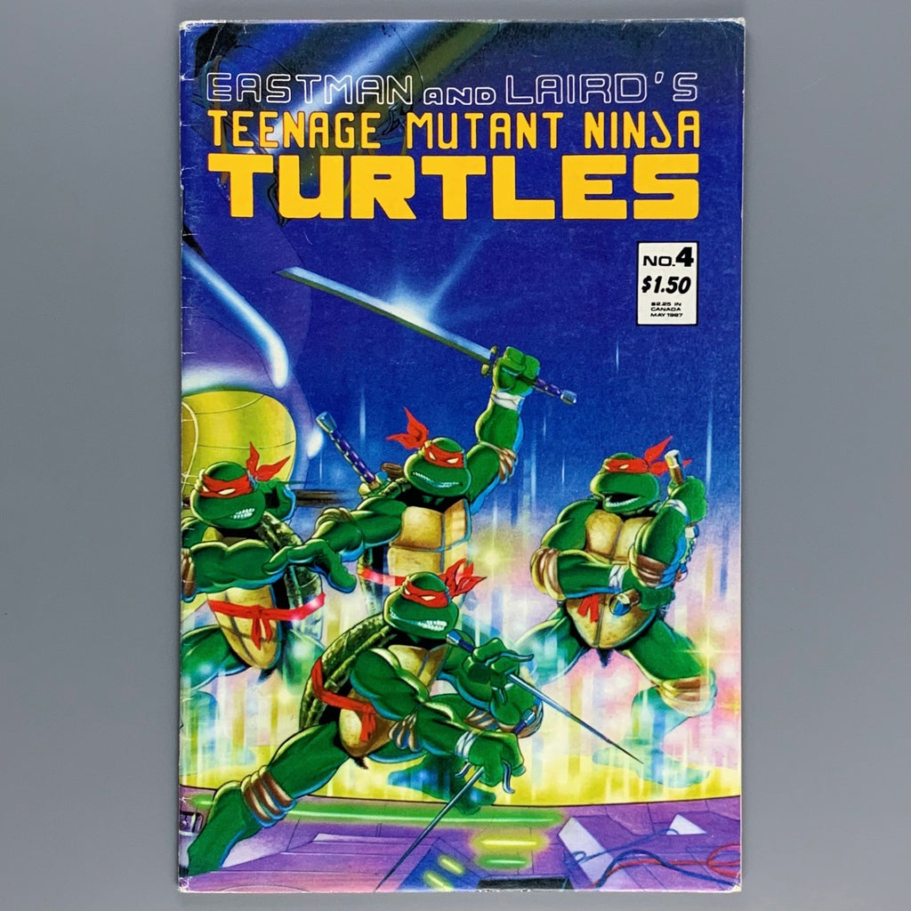 Teenage Mutant Ninja Turtles 4 - 2nd Print