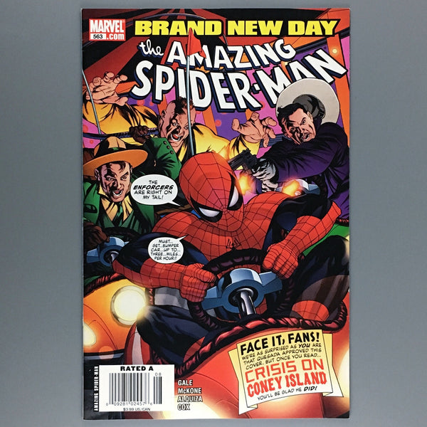 Amazing Spider-Man #563 - Newsstand Variant