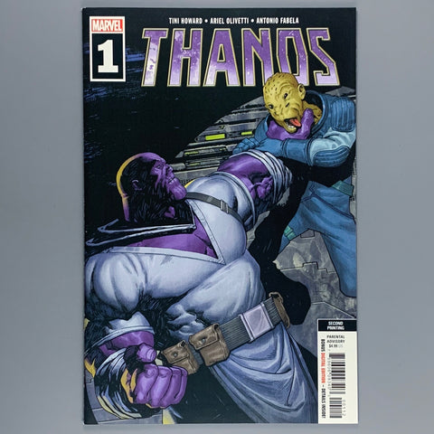 Thanos 1 - 2nd Printing