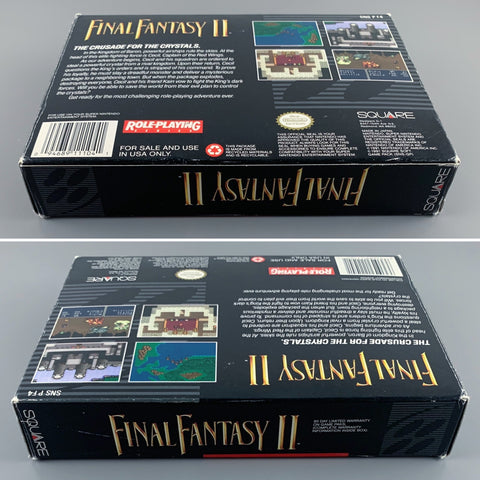 SNES Final Fantasy II