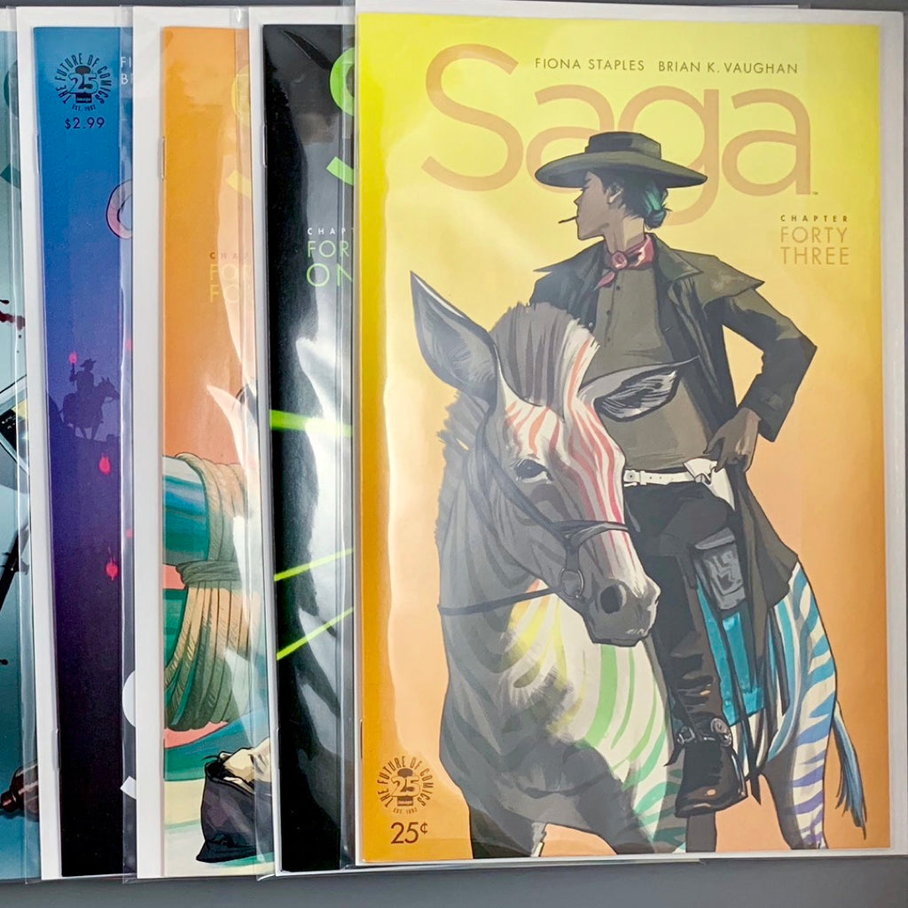 Saga 43-54 First Print Complete Set