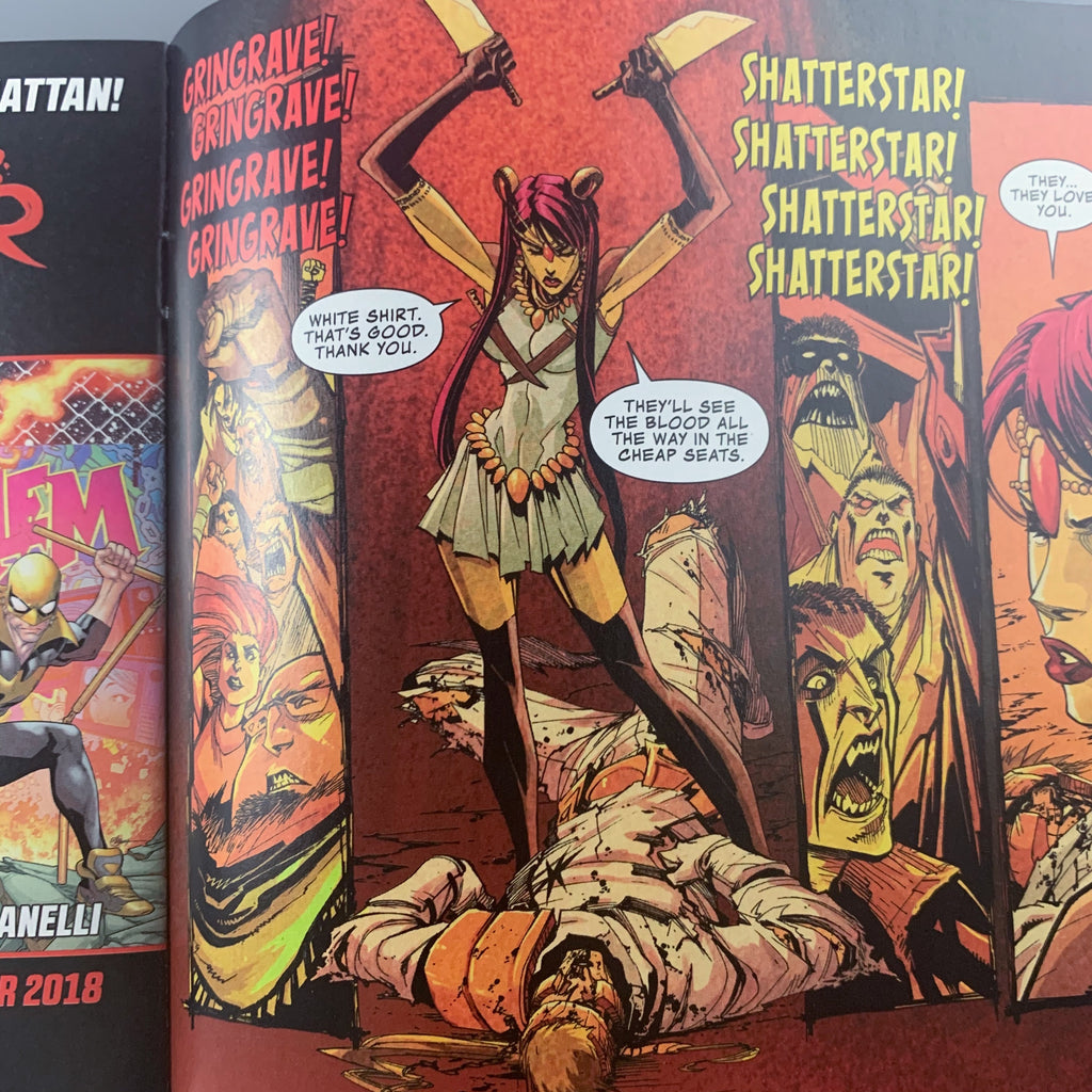 New Mutants Annual 6 & Shatterstar 1