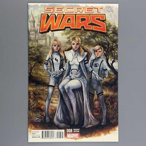 Secret Wars 8 -  Siya Oum Variant