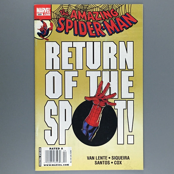Amazing Spider-Man #589 - Newsstand Variant