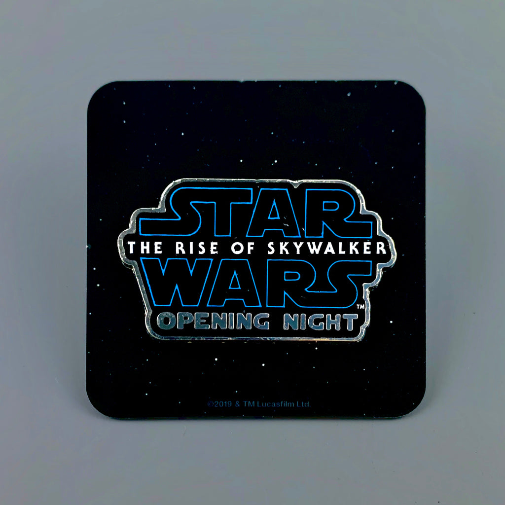 Star Wars The Rise of Skywalker Promo Pin 1.5""