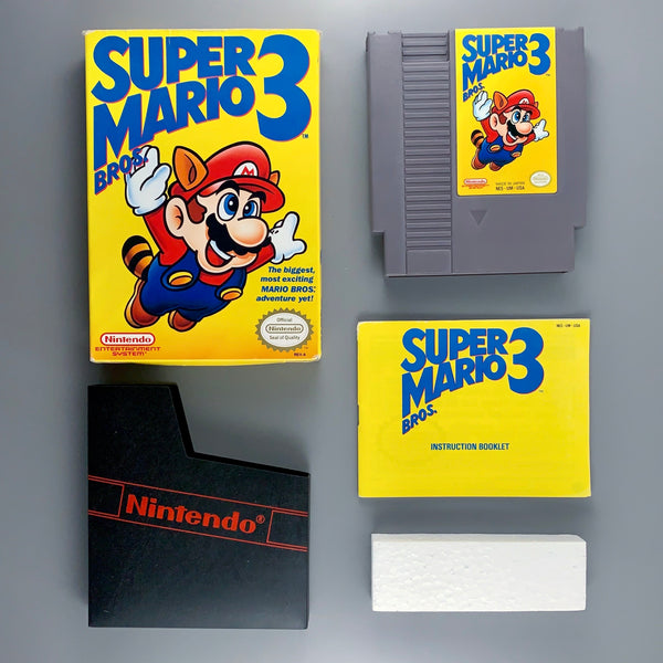 NES Super Mario Bros. 3 (Left Bros.) - CIB