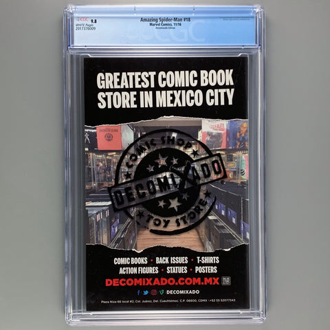 Amazing Spider-Man 18 - CGC 9.8