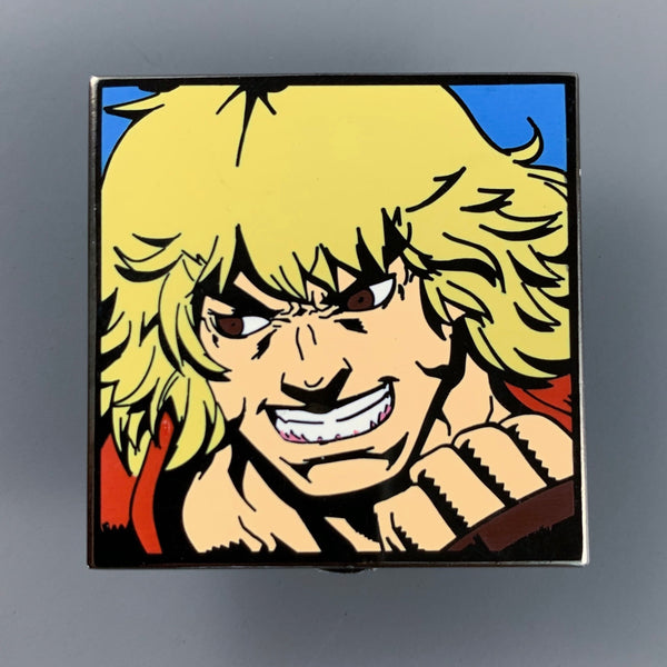 SDCC 2016 Street Fighter Ken Player Pin Exclusive