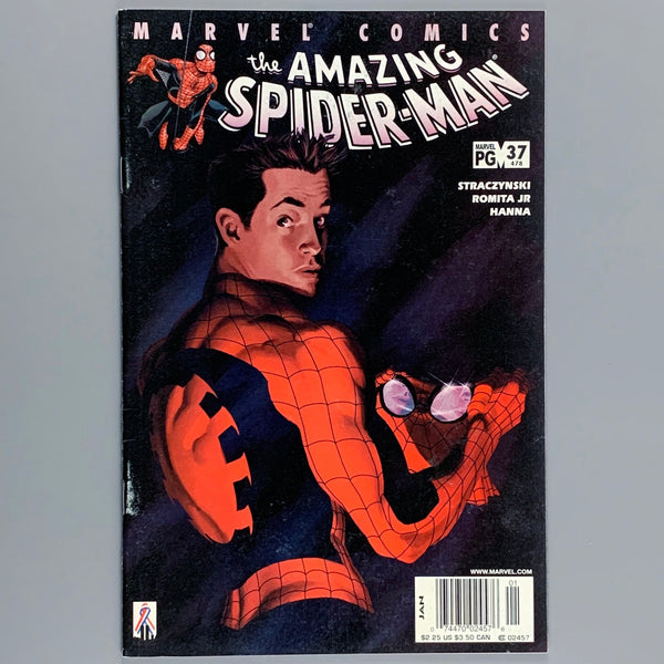 Amazing Spider-Man #37 478 - Newsstand Variant