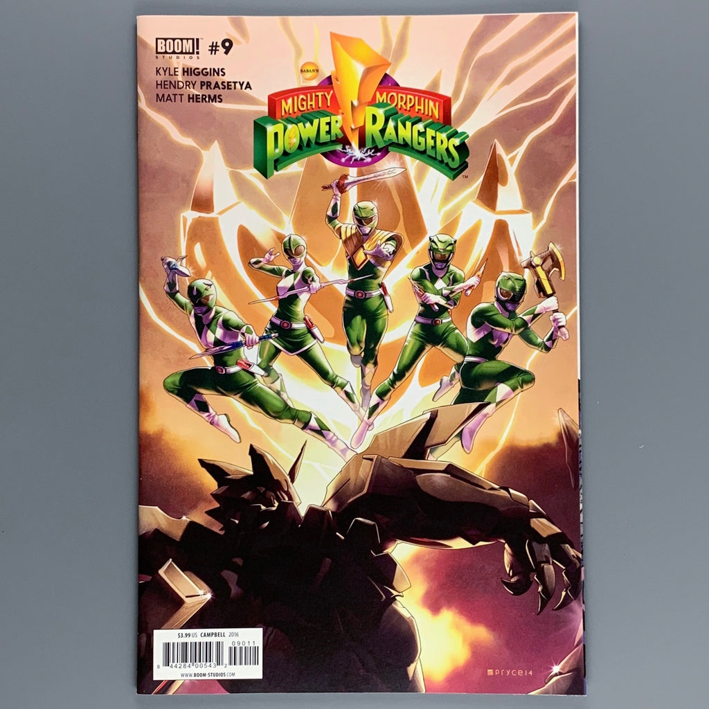 Mighty Morphin Power Rangers 9