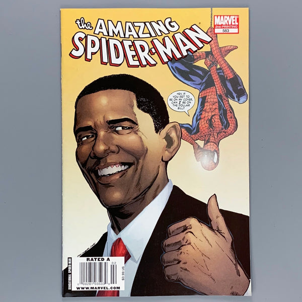 Amazing Spider-Man 583 - Newsstand Variant