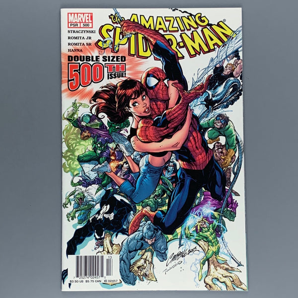 Amazing Spider-Man 500 - Campbell Newsstand Variant