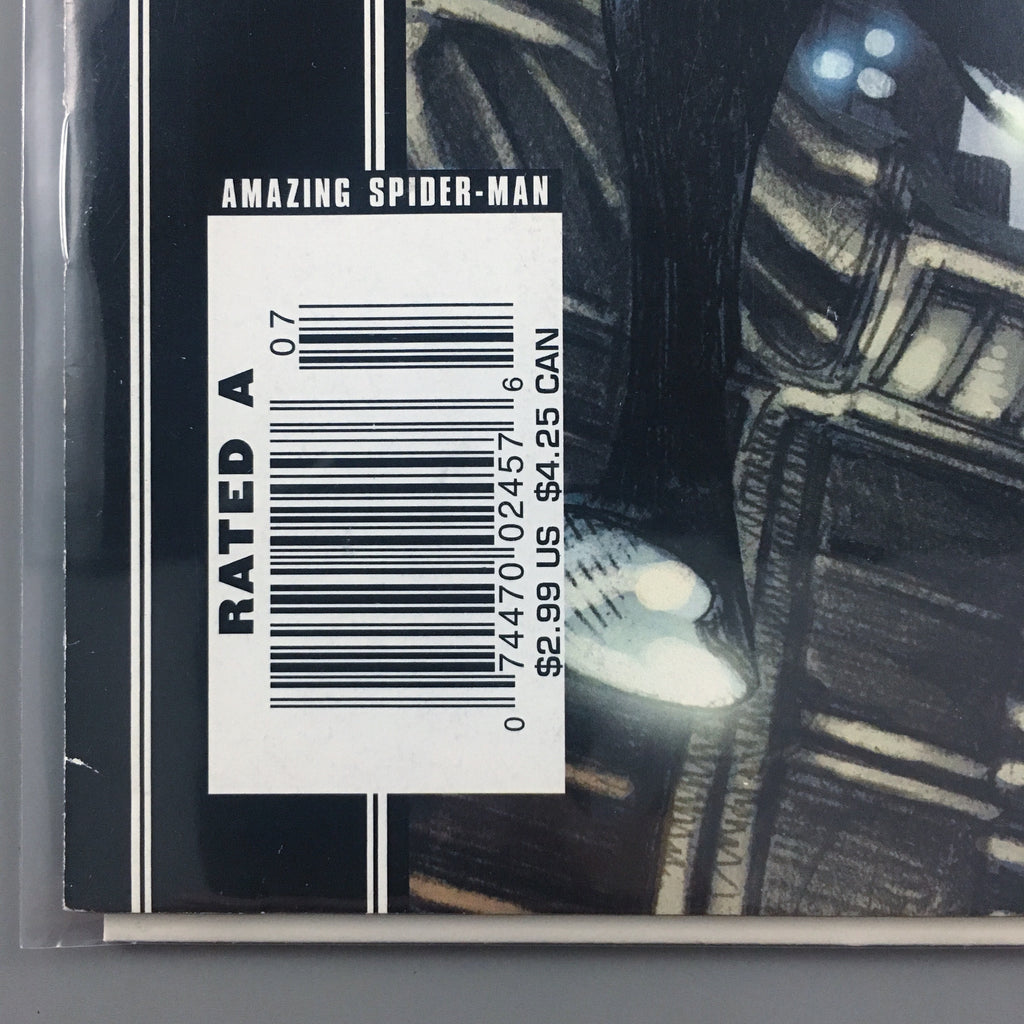 Amazing Spider-Man 541 - Newsstand Variant