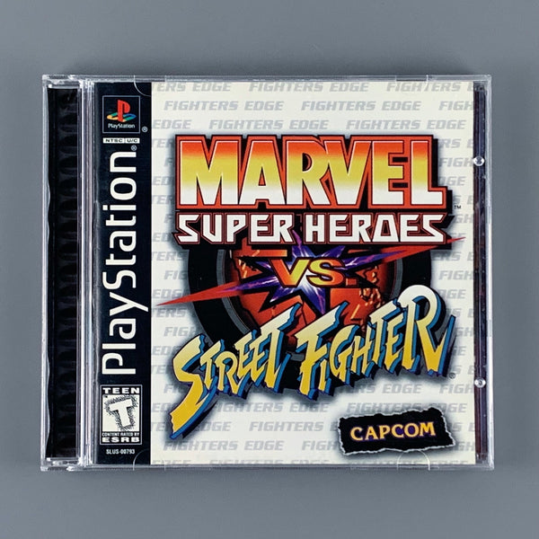 Sony PS1 Marvel Super Heroes vs Street Fighter